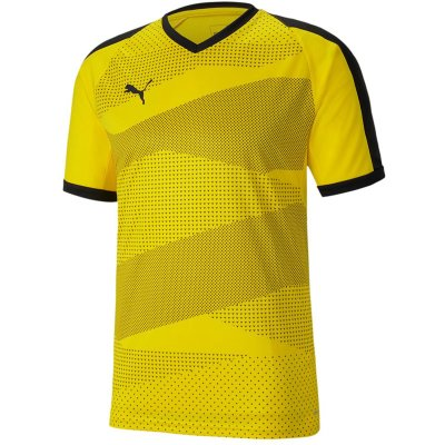 Puma teamFinal Indoor Jersey - cyber yellow-puma black - Gr. s (Farbe: gelb  )