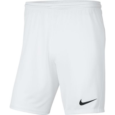 Nike Park III Short - white/black - Gr. kinder-m im Sport Shop