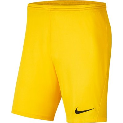 Nike Park III Short - tour yellow/black - Gr. l (Farbe: S gelb )