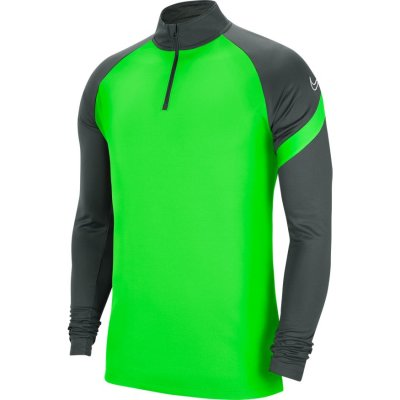 Nike Academy Pro Drill Top - green strike/anthrac - Gr. kinder-s (Farbe: 176 grün )
