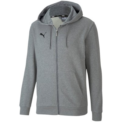 Puma teamGoal 23 Casuals Kapuzen Jogginganzug - medium gray heather - Gr. 3xl (Farbe: 128 grau )