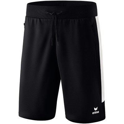 Erima Squad Short - black/white - Gr. XL