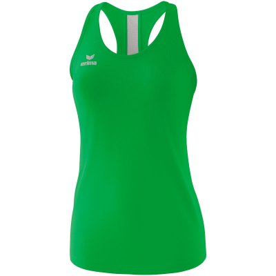 Erima Squad Tank Top - fern green/smaragd/silver grey - Gr. 44 (Farbe: 38 orange )