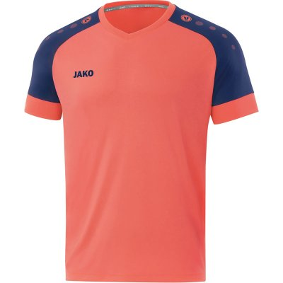 Jako Trikot Champ 2.0 - coral/navy - Gr.  140 (Farbe: rot weiß )