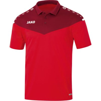 Jako Champ 2.0 Polo - rot/weinrot - Gr.  152 (Farbe: rot  )
