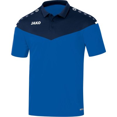 Jako Champ 2.0 Polo - royal/marine - Gr.  140 (Farbe: rot weiß )