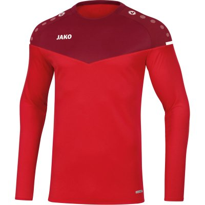 Jako Champ 2.0 Sweat - rot/weinrot - Gr.  l (Farbe: rot  )