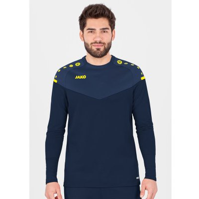 Jako Champ 2.0 Sweat - marine/darkblue/neongelb - Gr.  m