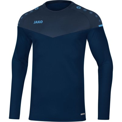 Jako Champ 2.0 Sweat - marine/darkblue/skyblue - Gr.  l im Sport Shop