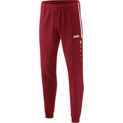 Jako Competition 2.0 Polyesterhose - weinrot - Gr.  116 im Sport Shop