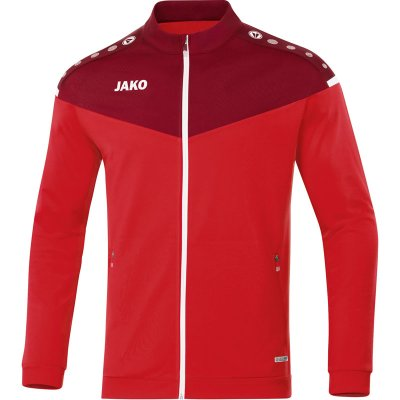 Jako Champ 2.0 Polyesterjacke - rot/weinrot - Gr.  l (Farbe: rot  )