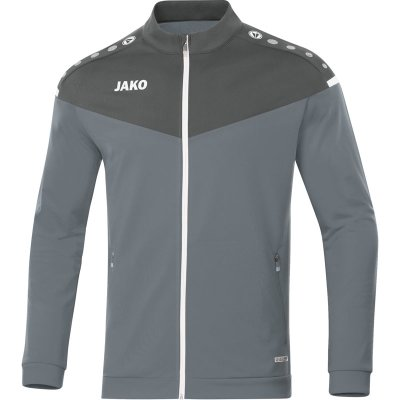 Jako Champ 2.0 Polyesterjacke - steingrau/anthra light - Gr.  116 im Sport Shop