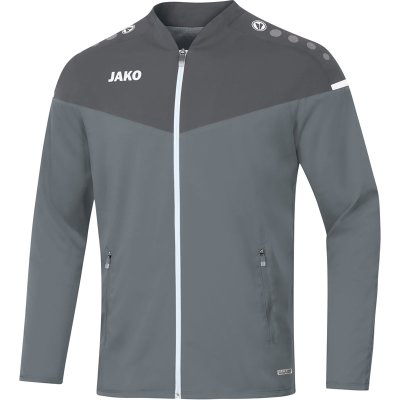 Jako Champ 2.0 Präsentationsjacke - steingrau/anthra light - Gr.  34 (Farbe: blau M )
