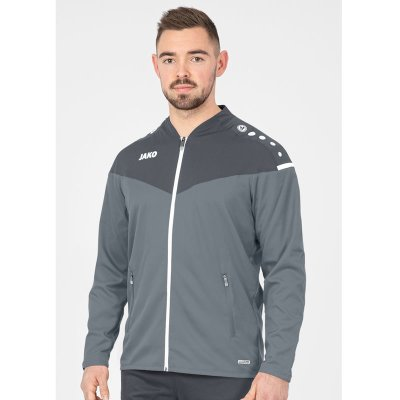 Jako Champ 2.0 Präsentationsjacke - steingrau/anthra light - Gr.  44