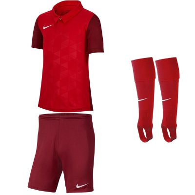 Nike Trophy IV Kinder Trikotsatz - university red - team red - univ. red  - Gr. kurzarm | s - s - s (Farbe: rot  )