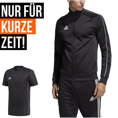 adidas Home-Office Set - black/white - Gr. 2XL (Farbe: schwarz  )
