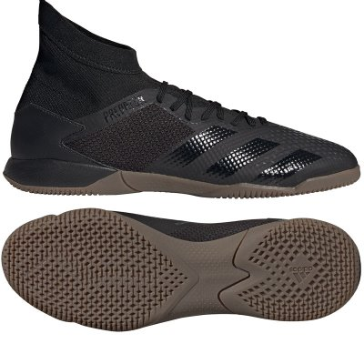 adidas Predator 20.3 IN - darkmotion - Gr. UK 10 1/2 = D 45 1/3 (Farbe: schwarz  )
