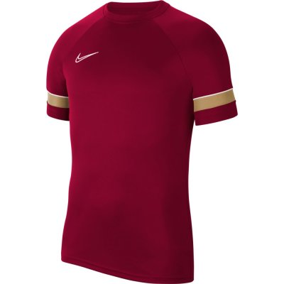 Nike Academy 21 Training Top Jersey - team red/white/jerse - Gr. kinder-xs (Farbe: weiß 128 )
