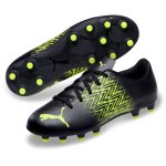 Puma Tacto FG/AG Jr - black/yellow