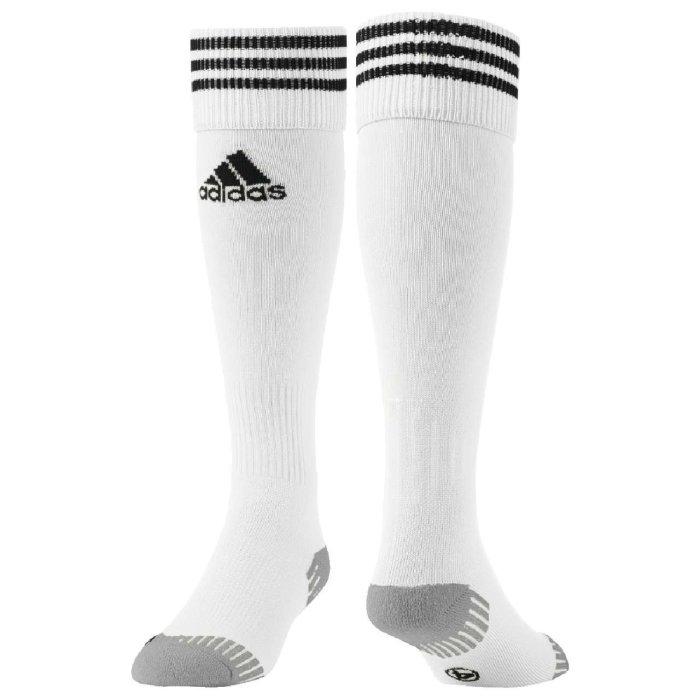 adidas Adisock 18 3 Streifen Stutzenstrumpf weiß schwarz
