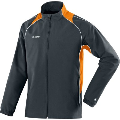 Jako Präsentationsjacke Attack 2.0 - anthrazit/orange  - Gr.  4xl (Farbe: XL grau )
