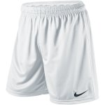Nike Park Knit Short mit Slip - white/black - Gr.  s