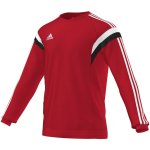 Adidas  Condivo 14 Sweat Top - university red/white - Gr. l