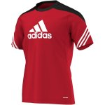 Adidas Sereno 14 Training Jersey - university red/black -...