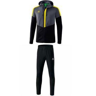 slate grey/black/yellow
