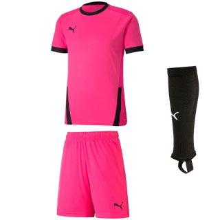 fluo pink - fluo pink - black
