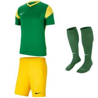 pine green/yellow - yellow - green