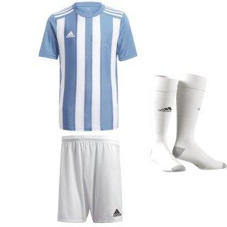 light blue - white - white