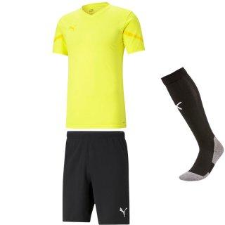fluo yellow - black - black