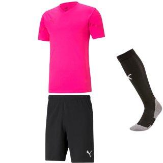 fluo pink - black - black