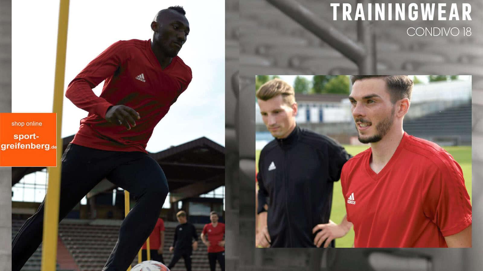 Die Adidas Condivo 18 Linie der Nationalmannschaft jetzt als Sportbekleidung für dich und deinen Club