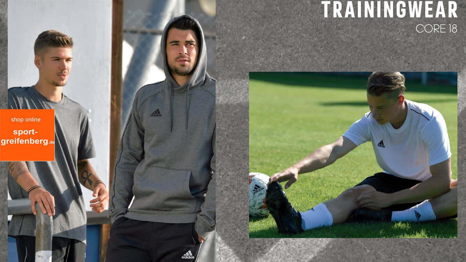 Adidas Core 18! Training Jersey, Tops und Trainingsanzüge die einfach immer passen!