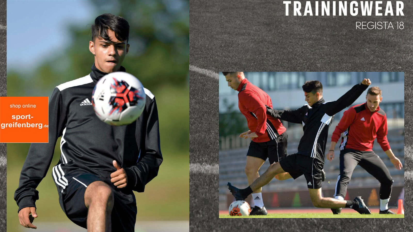 Die günstige Adidas Regista 18 Linie als Trainingsbekleidung für jede Mannschaft und jeden Sportler