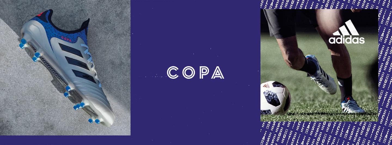Die adidas Copa 18 als Klassiker der Fußballschuhe
