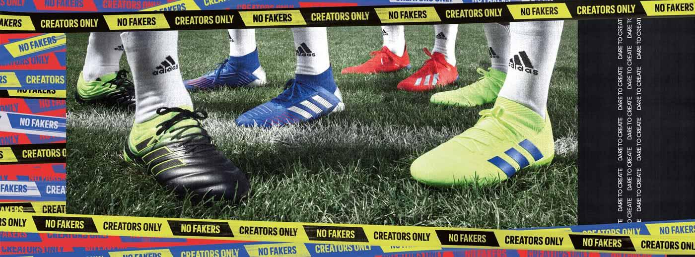 nur für echte Stars! adidas Copa, Predator, X und Nemeziz!