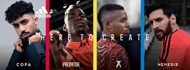 starte mit den neuen adidas Fußballschuhen jetzt in die neue Saison.