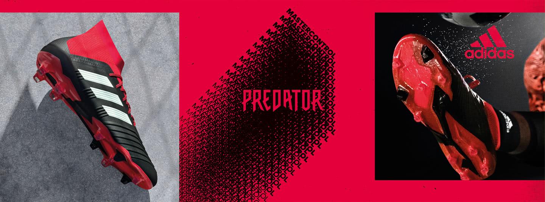 Die adidas Predator 18 Fußballschuhe für Ballkontrolle