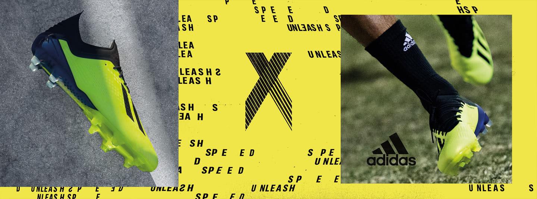 Mehr Speed mit den Adidas X 18 Fußballschuhen