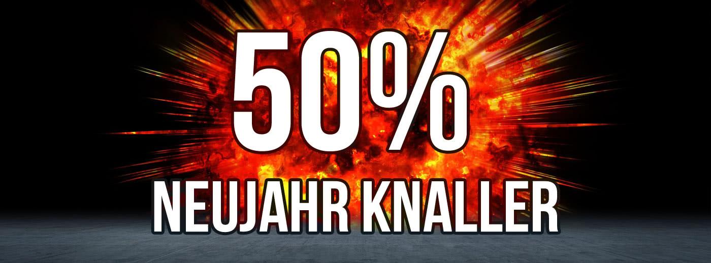 Angebot auch mit über 50%