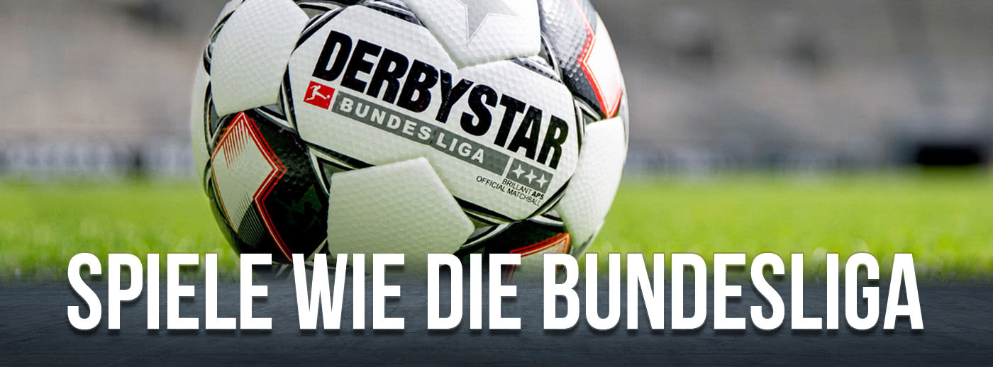 dein Derbystar Brillant APS*** Bundesliga Ball 2018/2019