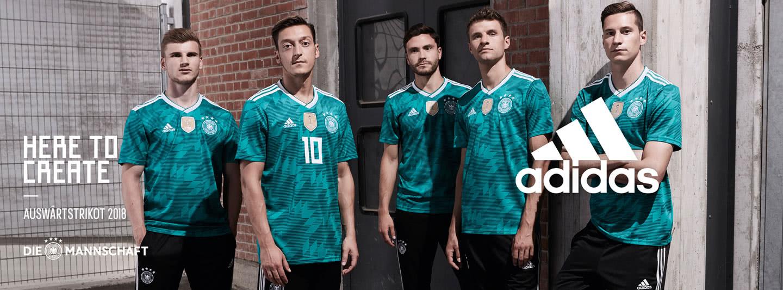 hol dir das WM 2018 Trikot der Nationalmannschaft im coolen grün