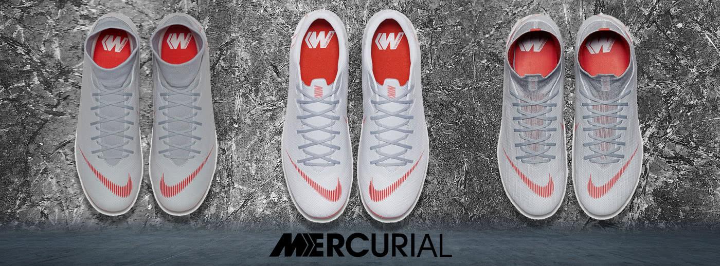 Grau ist die neue Farbe für Fußballschuhe! Sicher dir die Schuhe jetzt mit 50% Rabatt