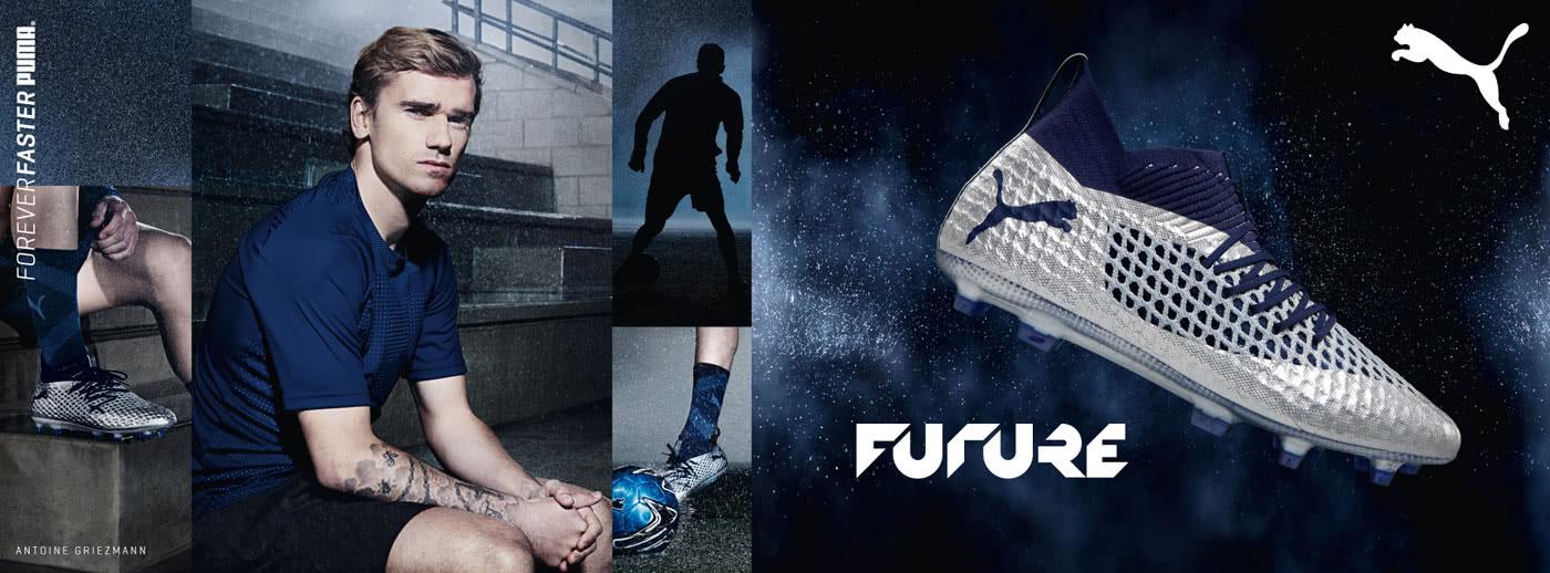die Puma Future Fußballschuhe mit einer komplett neuen Schnürung