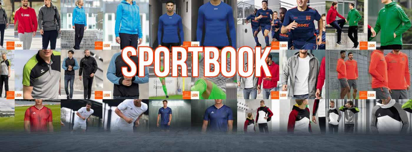 jetzt findest du noch mehr Outfits im Sportbook