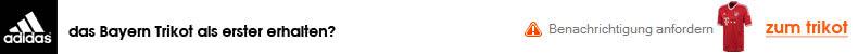 Email Nachricht zum Bayern Trikot