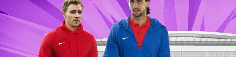 Die Nike Team Club Artikel für dich oder dein Team mit Sweatshirts, T-Shirts und Kapuzenjacken